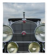 1930 Cadillac V-16 Fleece Blanket