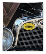 1930 Ford Model A - Front End - 7497 Fleece Blanket