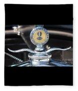 1930 Ford Model A - Hood Ornament - 7488 Fleece Blanket