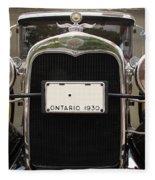 1930 Ford Model A Fleece Blanket