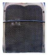 1930 Ford Model A Grille Fleece Blanket