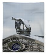 1930 Ford Model A Fleece Blanket