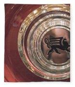 1930 Ruxton Wheel Fleece Blanket