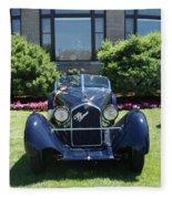 1930's Alfa Romeo Fleece Blanket