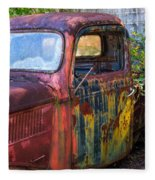 1930s Pickup Truck Fleece Blanket