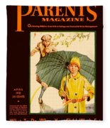 1931 - Parents Magazine - April - Color Fleece Blanket