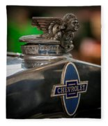 1931 Chevrolet Emblem Fleece Blanket