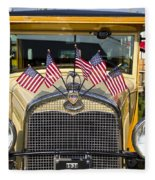 1931 Ford Model-a Car Fleece Blanket