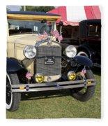 1931 Ford Model-a Car Fleece Blanket