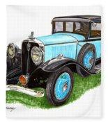 1931 Studebaker President Fleece Blanket