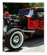1932 Ford Coupe Fleece Blanket