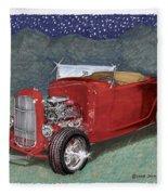 1932 Ford High Boy Fleece Blanket