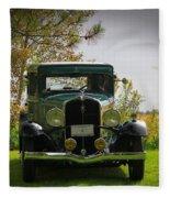1932 Frontenac 6-70 Sedan  Fleece Blanket