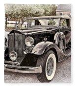 1932 Packard 903 Victoria Fleece Blanket