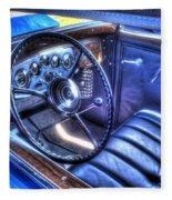 1932 Packard V12 Convertible Coupe-roadster V2 Fleece Blanket