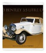 Bentley Derby D H C  Fleece Blanket