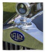 1933 Delage Fleece Blanket
