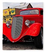 1933 Ford Coupe Fleece Blanket
