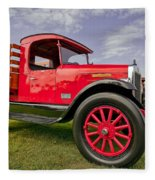 1933 International Truck Fleece Blanket