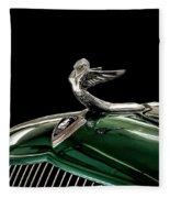 1933 Plymouth Mascot Fleece Blanket