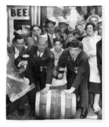 1933 Prohibition Repeal Fleece Blanket