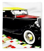 1934 Ford Phaeton V8  Fleece Blanket