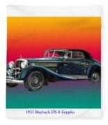 Maybach Zepplin Ds-8 Fleece Blanket