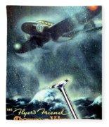 1936 - Thompson Valves Advertisement - Poster - Color Fleece Blanket