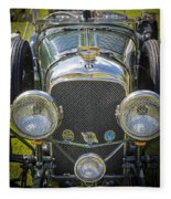 1936 Bentley 4.5 Litre Lemans Rc Series Fleece Blanket