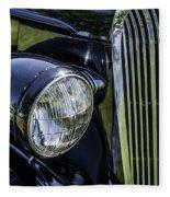 1936 Buick Vectoria Coupe Fleece Blanket