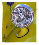 1936 Ford Pickup Headlamp Fleece Blanket