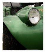 1936 Funeral Truck Headlight Fleece Blanket
