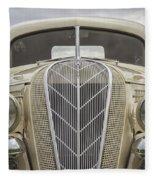 1936 Hudson Terraplane Truck Fleece Blanket