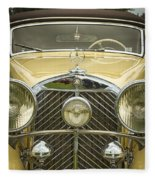 1936 Mercedes Benz Fleece Blanket