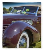 1937 Cord Phaeton Fleece Blanket