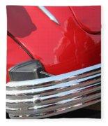 1937 Desoto Chrome Bumper-7249 Fleece Blanket