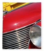 1937 Desoto Front-7262 Fleece Blanket