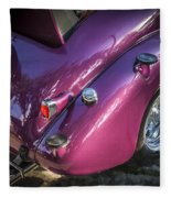 1938 Chevrolet Coupe With Rumble Seat Fleece Blanket