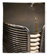 1938 Desoto 4 Door Sedan Fleece Blanket