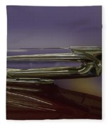 1939 Cadillac Hood Ornament Fleece Blanket