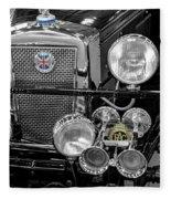 1939 Jaguar S100 Roadster Replica Fleece Blanket