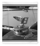 1939 M K 4 Bentley Flying B Mascot Fleece Blanket