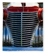 1940 Cadillac Coupe Front View Fleece Blanket