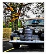 1940 Cadillac Coupe Fleece Blanket