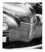 1940 Chevy Grill Fleece Blanket