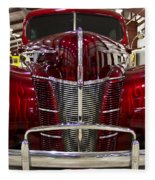 1940 Ford Class W Mild Street Rod Fleece Blanket