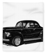 1940 Ford Restro Rod Fleece Blanket