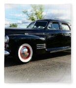 1941 Cadillac Coupe Fleece Blanket
