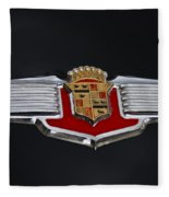 1941 Cadillac Emblem Fleece Blanket