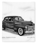 1941 Cadillac Fleetwood Sedan Fleece Blanket